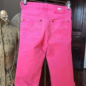 🔥FINAL PRICE🔥 Lucky Brand pink jeans. EUC. 5